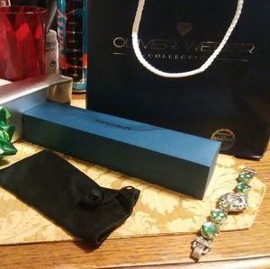 Christmas Gift !Swarovski Crystals  watch New!